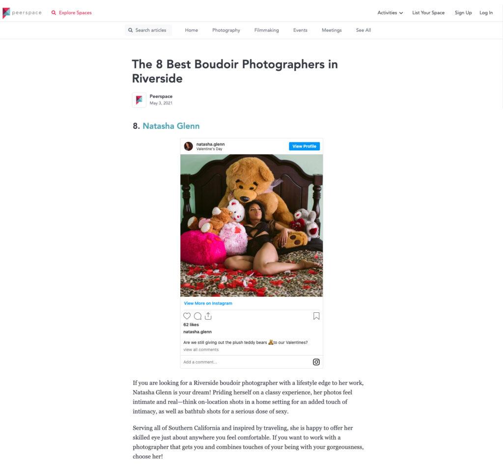 The 8 Best Boudoir Photographers in Riverside